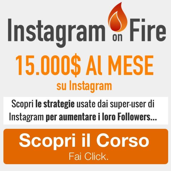 instagram on fire banner